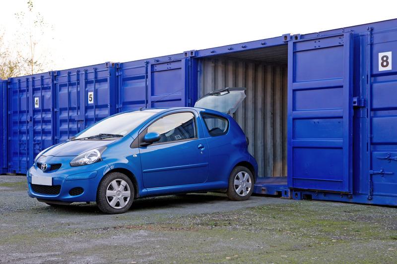 Self Storage Container Park Leeds Bridge Estates