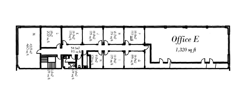 Office E Floorplan