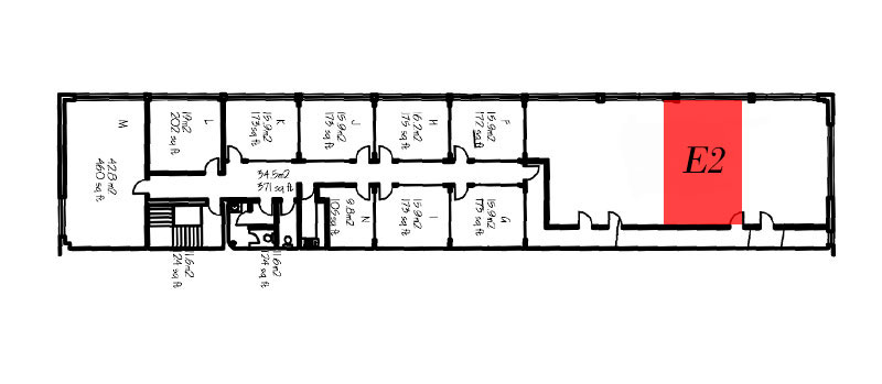 Office E2 Floorplan