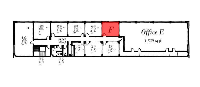 Office F Floorplan